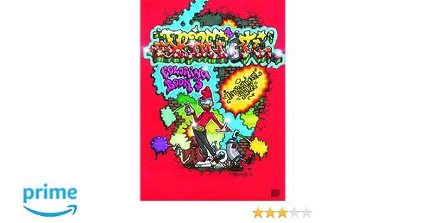 Graffiti Coloring Book 3 : Graffiti coloring book 3: amazon.de: dokument press