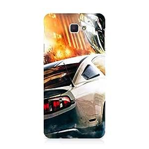 Hamee Designer Printed Hard Back Case Cover for Samsung Galaxy J5 Prime Design 6064
