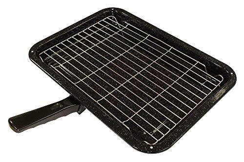 Go Elektro-grill (Universal 14-HP-73Grillpfannen-Set für den Herd/Backofen, Komplettset)