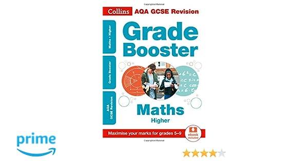 AQA GCSE 9-1 Maths Higher Grade Booster for grades 5-9 (Collins GCSE ...