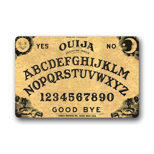 DDOBY Fußmatte, dekorativ, personalisierbar, mit Fußmatte Ouija Board, 23,6 Zoll (L) x 15,7 Zoll (W)
