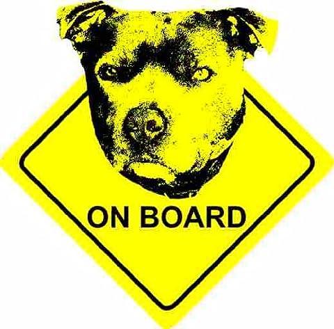Staffordshire Bull Terrier Dog - Car Sticker