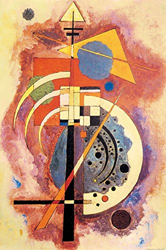 Wassily Kandinsky - Omaggio A Grohmann, 1926 Carta da Parati Adesiva (180 x 120cm)