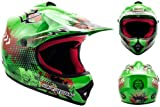 "Armor · AKC-49 ""Green"" (green) · Casco Moto-Cross · Racing Quad Off-Road Motocicletta Scooter..."