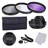 Objektiv Filter Set - SODIAL(R) Objektiv Filter Set Professional fuer Canon Nikon Sony und Andere Digitale SLR-Kamera Objektive mit Filtergewinde, 52MM