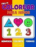 Libro de colorear para niños. Números Colores Formas: - Best Reviews Guide