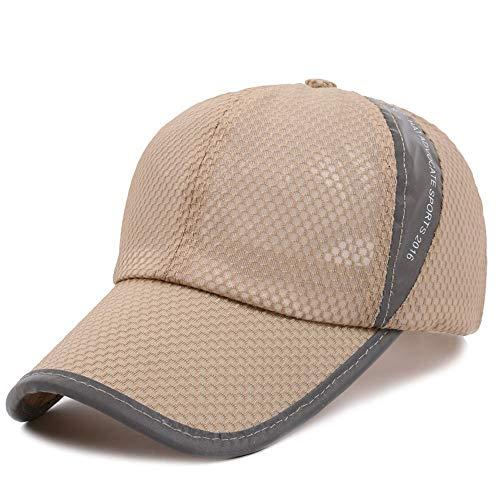 VISER Sommer Outdoor Sports Herren Baseball Cap Polo Golf Hut Frühling Atmungsaktiv Schweiß absorbierende Paar Bergsteigen Kappe Einstellbar Lkw-Fahrer Unisex Mode Atmungsaktiv Jungen Mädchen Mesh Cap (Mädchen-mesh-polo)