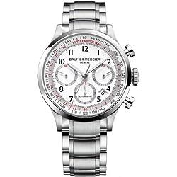 Baume y Mercier Capeland reloj de los hombres 10061
