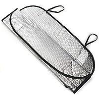 Pnizun - Universal Reflector de Aluminio del Coche del Parabrisas Parasol de Aluminio de la Ventana
