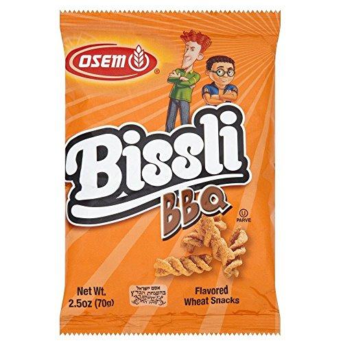Osem Bissli Barbecue Snack (70g) - Packung mit 6