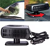 #6: Alcoa Prime 12V 2in1 Portable Car Vehicle Heater Heating Cooler Cooling Warmer Dryer Fan Windscreen Window Defroster Demister ZX2