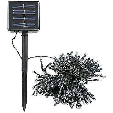 Lixada 20.5M 200 LEDs Energia Solare Impermeabile Led Lampada / luci decorative Per Giardino Yard, sala concerti, sala da sposa, ristorante, centro commerciale,albero di Natale