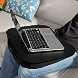 SoBuy® FBT28-SCH Laptop-Schoßtablett, Notebookablage, Betttisch, schwarz
