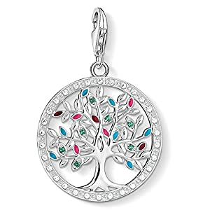 Thomas Sabo Damen-Anhänger Tree of Love 925 Sterling Silber 1667-473-7