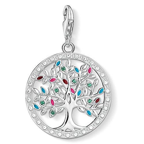 Thomas Sabo Damen-Anhänger Tree of Love 925 Sterling Silber 1667-473-7