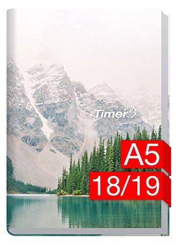 Chäff-Timer Classic A5 Kalender 2018/2019 [Mountain Spirit] 18 Monate Juli 2018-Dezember 2019 - Terminkalender mit Wochenplaner - Organizer - Wochenkalender