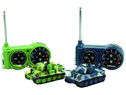 Amewi 23016 - Mini Panzer 1:72, Deutscher Tiger - ferngesteuert