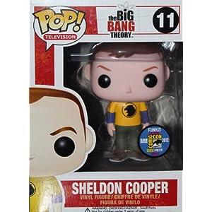 Funko Figurine Big Bang Theory Sheldon Yellow Hawkman Pop 10cm 0830395029160