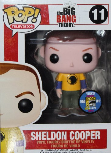 Funko - Figurine Big Bang Theory - Sheldon Exclu Yellow Hawkman Pop 10cm - 0830395029160