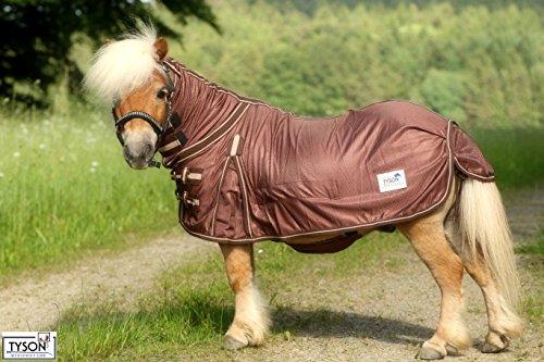 Ekzemerdecke Ekzemer Decke Fliegendecke mit Halsteil Minisehtty Shetty Isi Pony 60 65 70 75 80 85 90 95 100 115 125 135 145 Tysons (115)