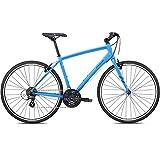 28 Zoll Fitnessbike Fuji Absolute 2.1 Fitness Fahrrad Crossrad , Rahmengrösse:58 cm, Farbe:Satin Charcoal. Satin Bright Blue