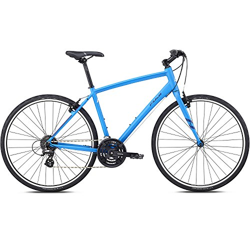 28 Zoll Fitnessbike Fuji Absolute 2.1 Fitness Fahrrad Crossrad , Rahmengrösse:48 cm, Farbe:Satin Charcoal. Satin Bright Blue