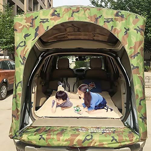 Sport Tent-Wasserdichtes Vorzelt Vordach Tragbares Auto SUV Heckzelt Klappzelt Anhänger Markise mit 2St Sandsäcke für Camping 2 Personen,A