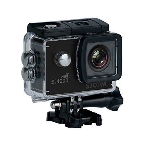 SJCam SJ4000 12MP Wi Fi Action Camera  Black  Action Cameras