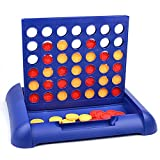 #8: Karp Plastic Kids Connect 4 Game In a Row Standard (Blue, Kids Connect 4 Educational Board Game)