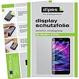 dipos I 2X Schutzfolie matt passend für Medion S5504 Folie Bildschirmschutzfolie