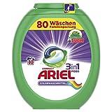 Ariel 3in1 PODS Colorwaschmittel, 80Waschladungen