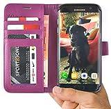 Abacus24-7 S7 EDGE Case, Galaxy S7 Edge Wallet Case Folio,