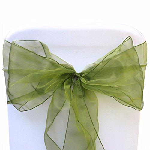 chärpen für Hochzeit breit Schleife umfassende für Stuhl Dekoration in die Geburtstag Party Events, durch trimmen Shop (Hot Pink Und Schwarz-party Dekorationen)