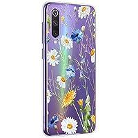 Oihxse Mandala Flores Encaje Patrón Serie Case Compatible con Huawei Mate 30 Funda TPU Silicona Suave Protector Ultra Slim Anti-Rasguño Transparente Carcasa (A13)