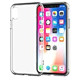 iPhone X Handy Hülle Crystal Clear Silikon Schutz [PERFECT FIT] ultra dünnes Slim Case von...