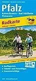 Pfalz, Kaiserslautern - Bad Dürkheim, Pirmasens: Radkarte mit Ausflugszielen, Einkehr- & Freizeittipps, wetterfest, reißfest, abwischbar, GPS-genau. 1:100000 (Radkarte / RK)