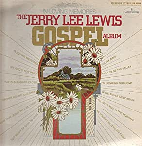 JERRY LEE LEWIS - in loving memory- the gospel album MERCURY 61318 (LP vinyl record)