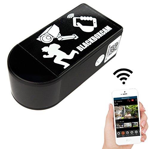 Mini WLAN IP Überwachungs Kamera mit 180° drehbarem Objektiv kabellos mit App (Rotate Mini)