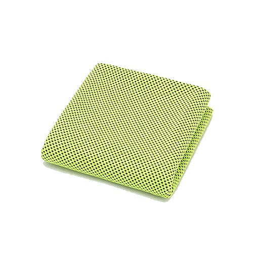 Zxllyntop-Sports Sporthandtuch Super-Faser-Fass-kühler Sense-Hitzschlag-Doppelt-EIS-Tuch, das Sport-Tuch im Freien kühlt Super Saugfähig, Kompakt, Leicht (Farbe : Grün) - Fass-kühler