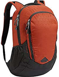 ac67a1392b12 The North Face Vault Backpack Ketchup Red Emboss Asphalt Grey One Size  (Past Season