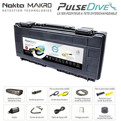 Nokta Metal Detector Pulsedive Makro Pinpointer Impermeable Sumergible Waterproof 60 Metros Escuba Detector...