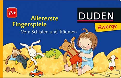 Preisvergleich Produktbild Allererste Fingerspiele: Vom Schlafen und Träumen: ab 12 Monate (DUDEN Pappbilderbücher 12+ Monate)