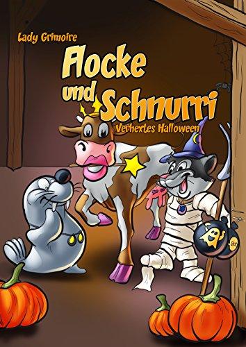 Buchseite und Rezensionen zu 'Flocke und Schnurri: Verhextes Halloween' von Lady Grimoire