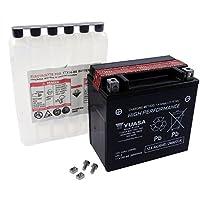 Battery YUASA - YTX14H-BS maintenance-free for SUZUKI LT-V700F Twin Peaks 700 ccm Year of construction 04-05