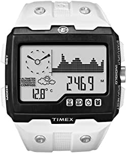 Timex Wide Screen Expedition Watch - White Rubber Strap T49759