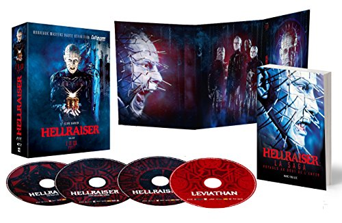 Image de Hellraiser Trilogy Cult'Edition [Édition Collector 4 Blu-ray + 1 Livre 152 pages] [Édition Collector]