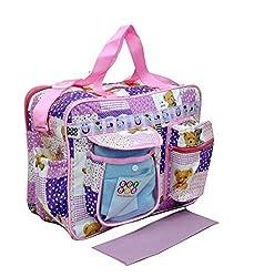 Bey Bee - Mama's Bag {Diaper Bag} (Purple)