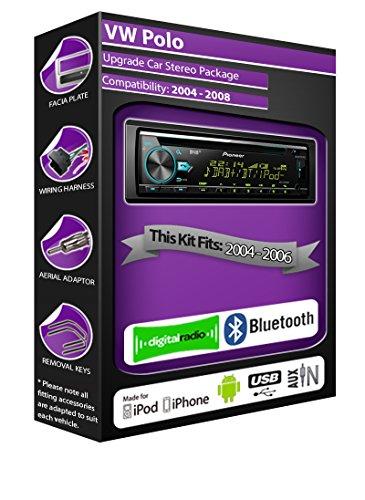 Volkswagen Polo Radio DAB, Pioneer estéreo reproductor de CD USB AUX en,...