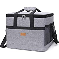 Lifewit Large Capacity Cooling Bag, Insulated Lunch Box, Soft-Sided for Beach/Picnic / Camping/BBQ /Travel, 30L