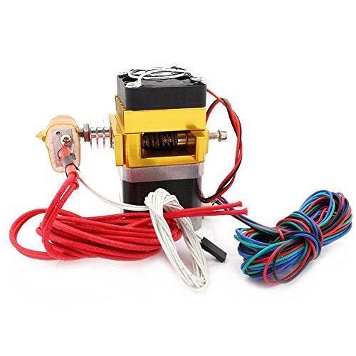 Anycubic MK9 estrusore Hotend con NTC 100K termistore e 700 millimetri tubo PTFE per RepRap Prusa i3 stampante 3D